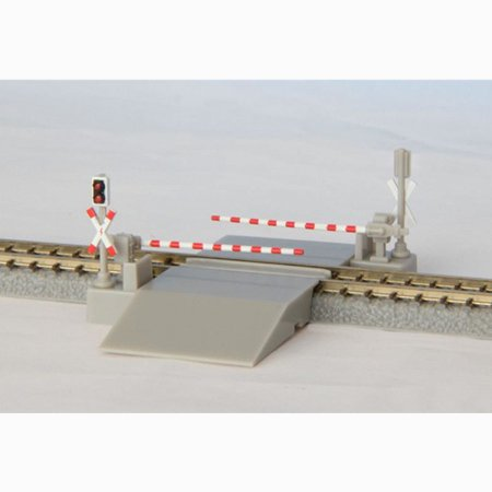 Rokuhan Z Scale S045-3 Railroad Crossing European Version - Railroad Crossing Costume