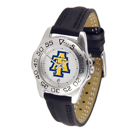 "North Carolina A&T State Aggies NCAA ""Sport"" Ladies Watch (Leather Band)"