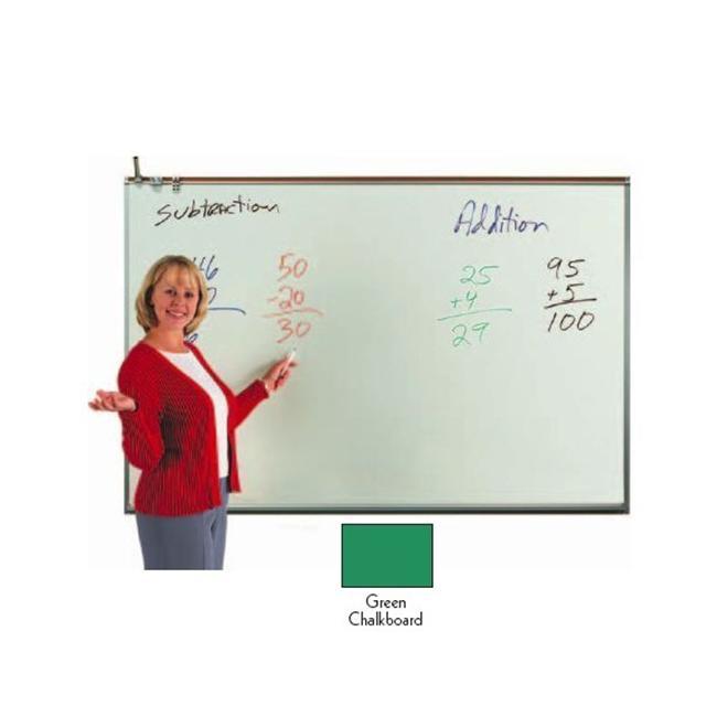 Aarco Products 120A-23CG Porcelain Enamel On Steel Chalkboard - Green