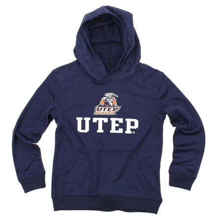 NCAA Youth UTEP Miners Performance Hoodie, Blue