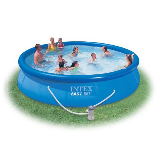 Intex 15 X 33 Easy Set Above Ground Swimming Pool With Filter