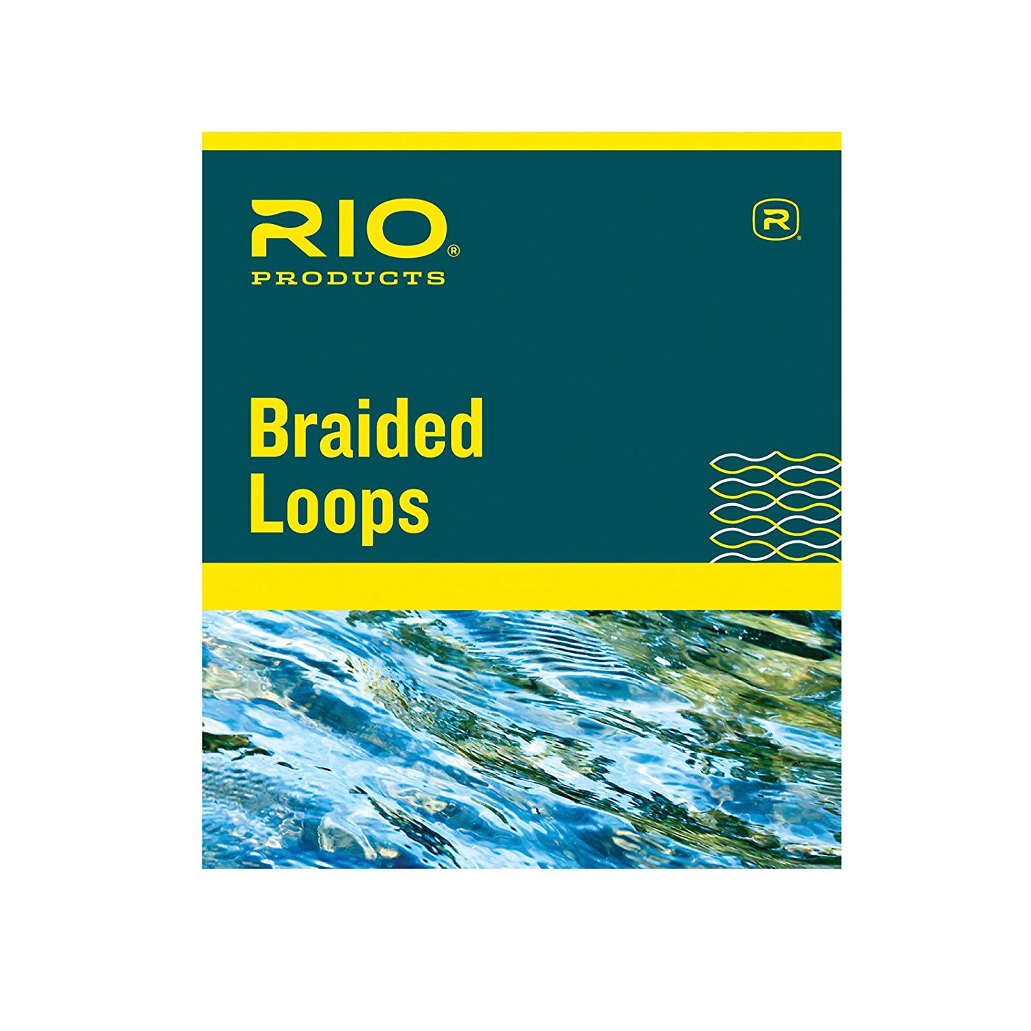 Braided Loops for Extra Large Fly Lines 12+ 4 Pack, A quick and easy way to attach leader to fly line or the backing to the line. By RIO Ship from US