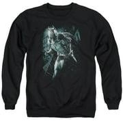 Dark Knight Rises Batman Rain Mens Crewneck Sweatshirt
