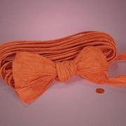 "Orange Twisted Paper, 4-1/2"" X 25Yd"