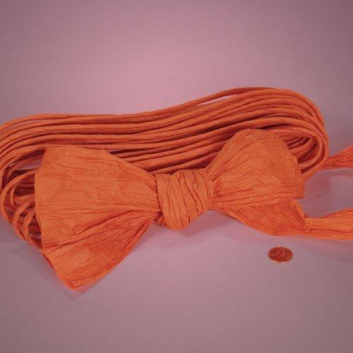 "Orange Twisted Paper, 4-1/2"" X 25Yd"
