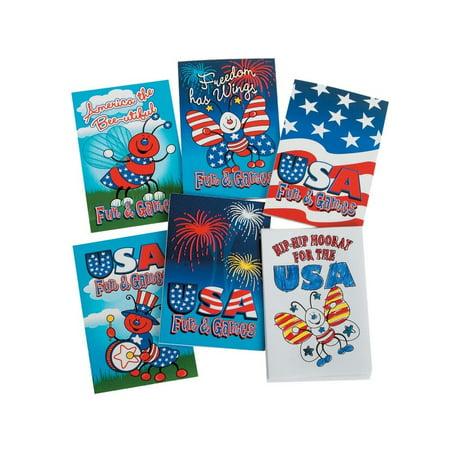 Mini Patriotic Activity Books