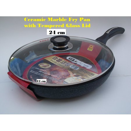 Ceramic Marble Coated Non Stick Cast Aluminium Fry Pan