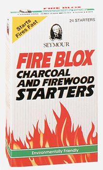 Seymour Fire Starter 24 Starters per box by Shop Chimney
