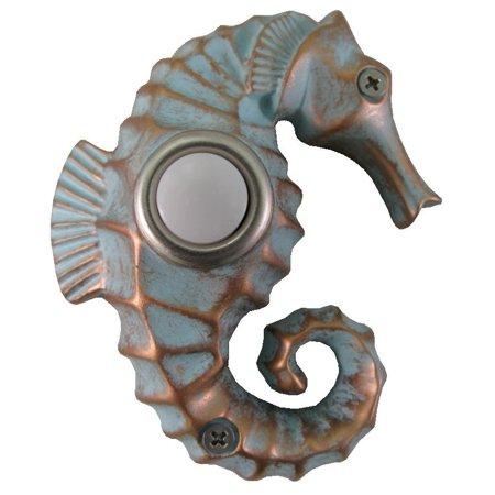 Waterwood Painted Seahorse Doorbell