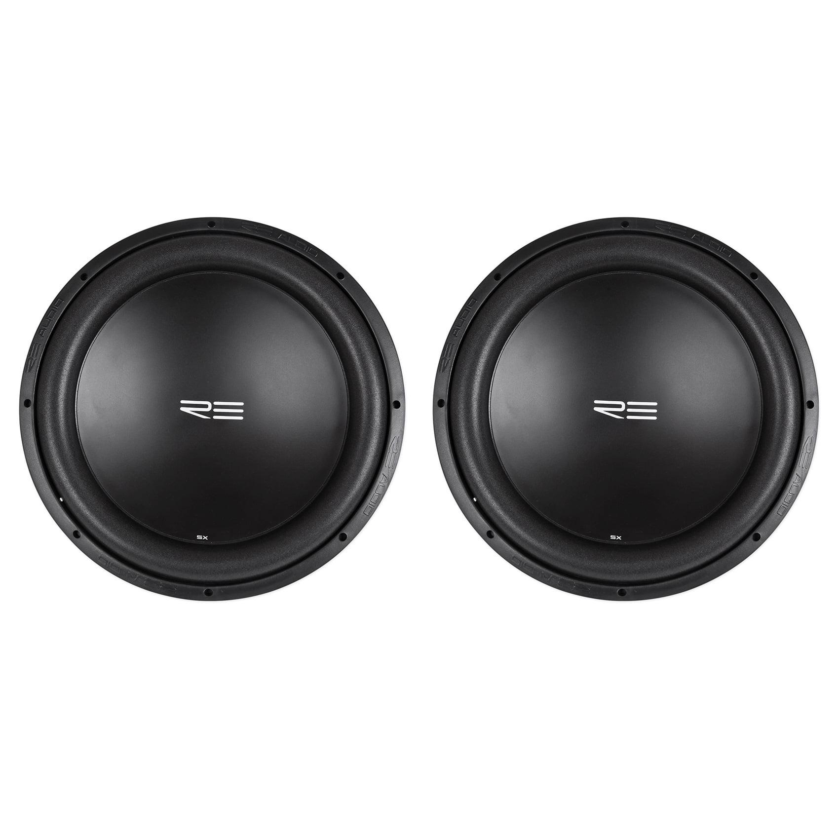 """Re-Audio (2) RE Audio SXX15D4 V2 SXXV2 15"""" 2400W RMS Dual..."""