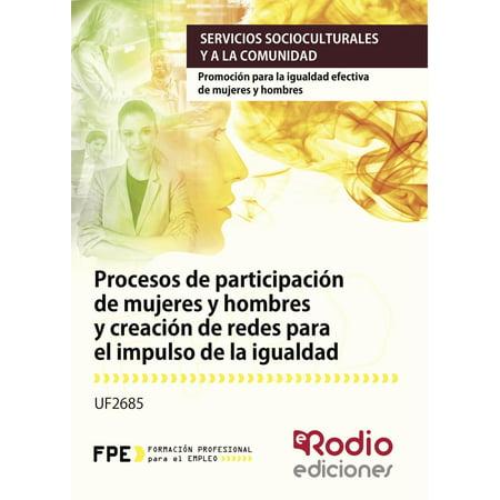 Procesos de participación de mujeres y hombres y creación de redes para el impulso de la igualdad - (Gafas Para Hombre)