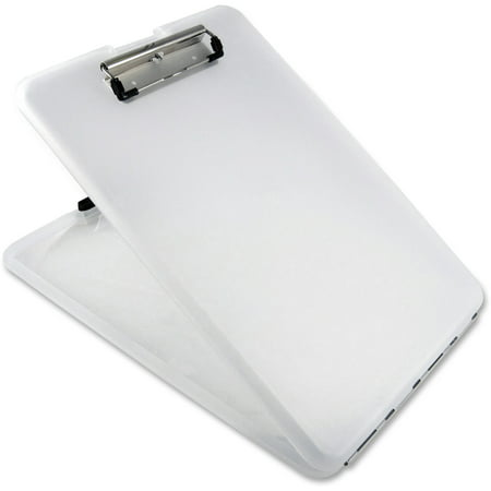 Saunders, SAU00871, US-Works SlimMate Storage Clipboard, 1 Each, Clear