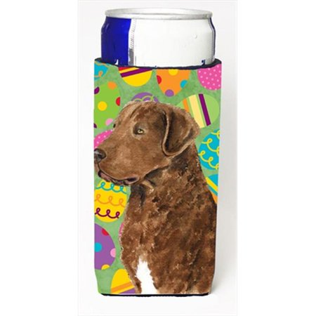 Chesapeake Bay Retriever Easter Eggtravaganza Michelob Ultra bottle sleeves For Slim Cans - 12 (Hunting Chesapeake Bay Retriever Puppies For Sale)