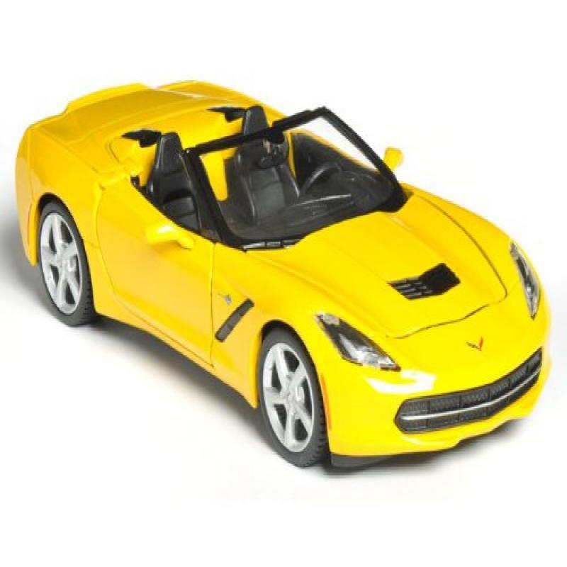Maisto 2014 Chevy Corvette Stingray Convertible 1 24 Yellow by