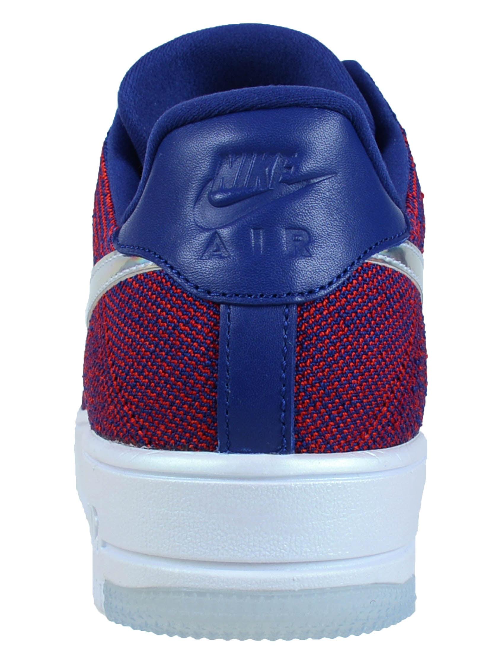 06612f9b2e36 Nike - NIKE AIR FORCE 1 ULTRA FLYKNIT LOW PRM GYM RED DEEP ROYAL BLUE WHITE 826577  601 - Walmart.com