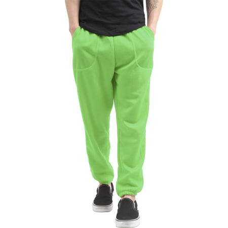 Men's Elastic Bottom Sweatpants with Pocket ()