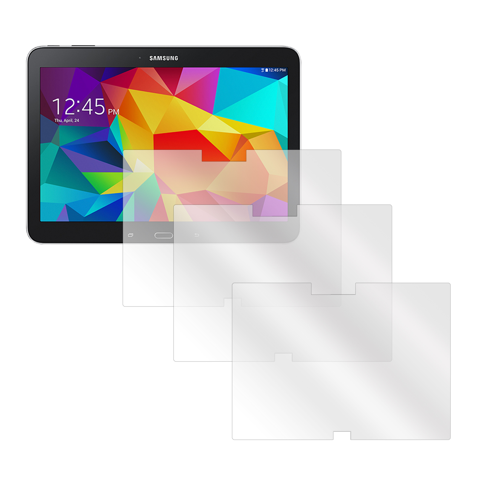Screen Protectors for Galaxy Tab 4 T530- Set of 3