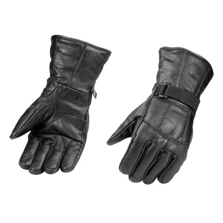 Raider, Black Leather Motorcycle Riding Gloves Summer Motorcycle Riding Gloves