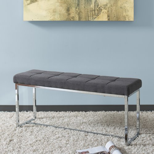 Orren Ellis Onya Upholstered Bench