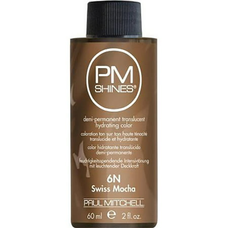 Paul Mitchell PM Shines Demi-Permanent Hair Color 2oz (6N) Swiss