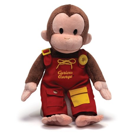GUND Curious George Teach Me Plush - Curious George Party Stuff