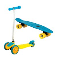 Deals on Maui and Sons Mini Sharkman Scooter and Skateboard Combo Set
