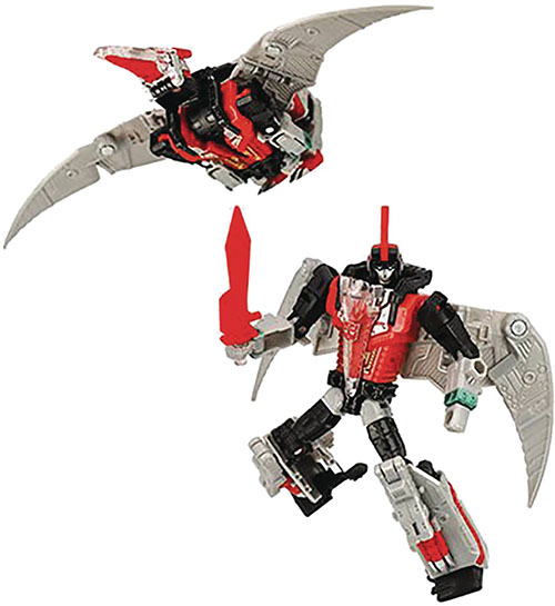 DINOBOT SWOOP Transformers Generations Power of the Primes Deluxe 2019 RED