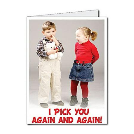 2x3 Giant Birthday Card I Pick You Again And Again Walmart