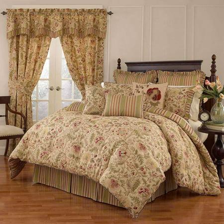 Waverly Imperial Dress 4-Piece Bedding Comforter Set,