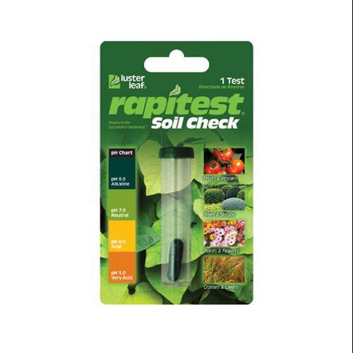 LUSTER LEAF INC Rapitest Soil pH Check Kit