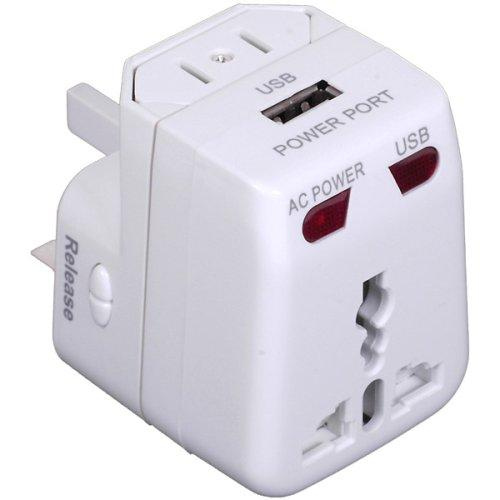 Sunpak Travel-adapt Universal Travel Adapter