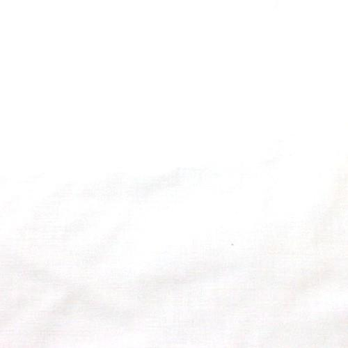 "Cotton Polyester Broadcloth Fabric Premium Apparel Quilting 45"" (White)"