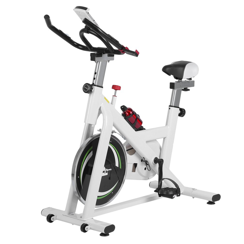 Stationery Exercise Bike Dynamic Bicycle Ultra-Quiet Home Fitness Equipment Indoor Sports Cycling HD Display Exercise Bike