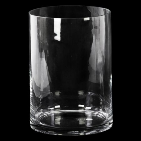 Urban Trends Collection Glass Vase Clear Glass Finish Achromatic