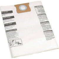 Shop-Vac 9066300, Type G, 15-22 Gallon Disposable Collection Filter Bag, 3 Count