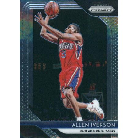 2018-19 Panini Prizm #45 Allen Iverson Philadelphia 76ers Basketball