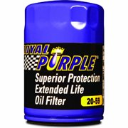 Royal Purple Extended Life Oil Filter 20-59, Engine Oil Filter for Buick, Chevrolet, Pontiac, Saturn, Cadillac, GMC, Oldsmobile, Checker Cab, Jeep, Isuzu, Hummer and Saab