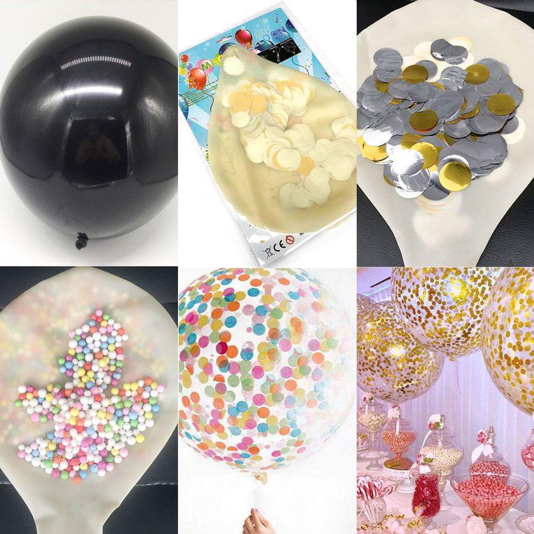 36 Inch Black Gender Reveal Balloon Gender Reveal Birthday Baby Shower
