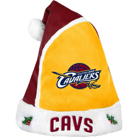 Forever Collectibles NBA 2015 Santa Hat, Cleveland Cavaliers