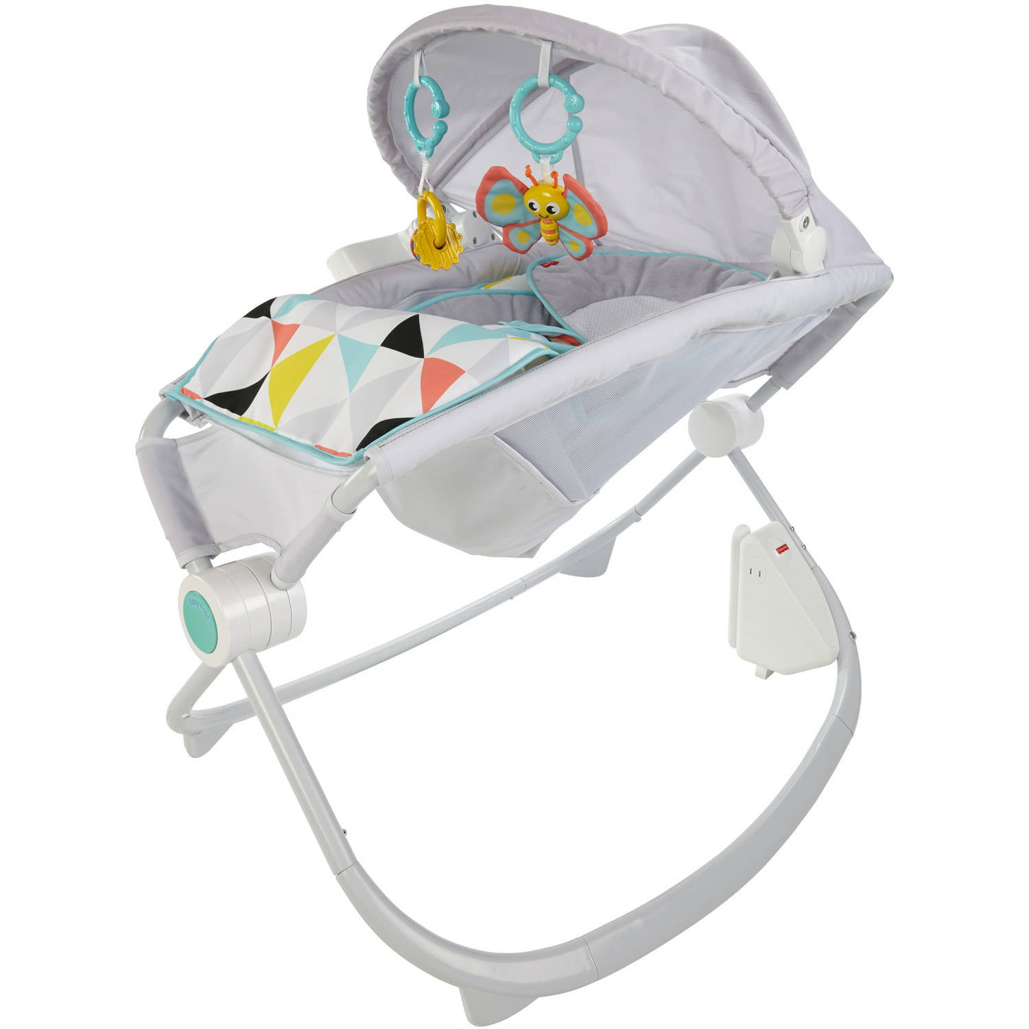 Fisher Price Premium Rock 'n Play Sleeper with Smartconnect, Windmill by Fisher-Price