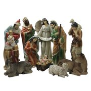 Northlight 11 Piece Tranquil Religious Christmas Nativity Set