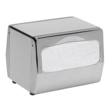San Jamar SANH4001XC Countertop Napkin Dispenser, 7 3/4 X 6 X 5 3/4, Chrome