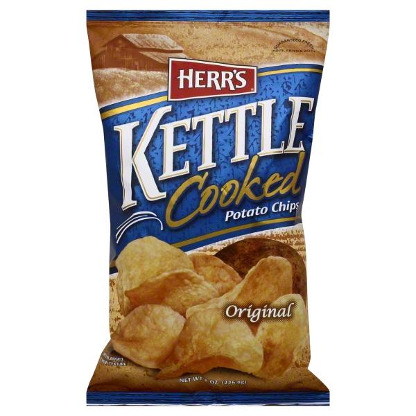 Herr Foods Herrs  Potato Chips, 8 oz