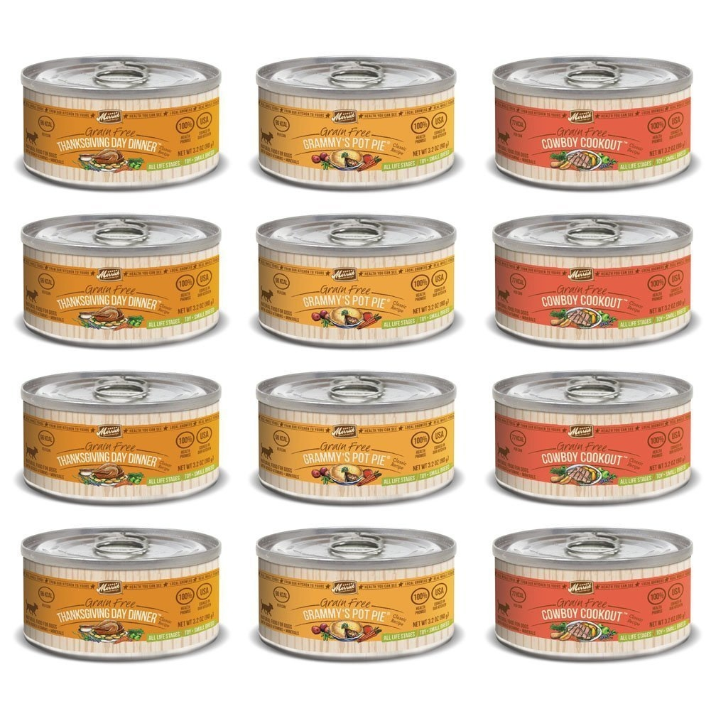 Merrick Classic Recipe Canned Dog Food Variety Pack - Tha...