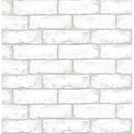 InHome Cambridge Brick Peel & Stick Wallpaper