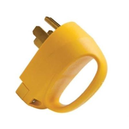 Marinco 50MPRV 50 Amp Replacement Plug With Extra Wide Handle
