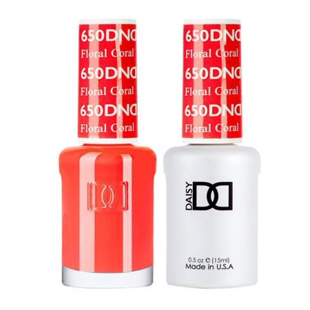 DND - Gel & Lacquer - Floral Coral - #650