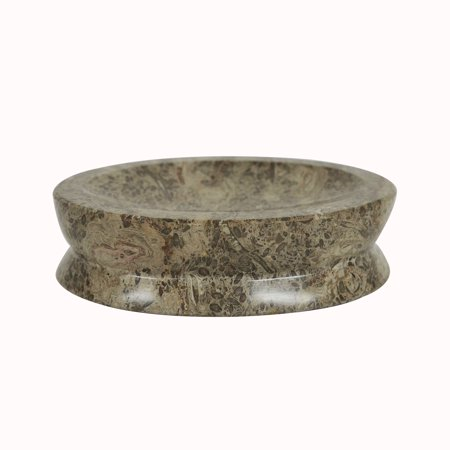 Polished Marble Soap Dish Taupe Gray Shower And Bathroom Accessory