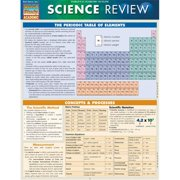 BarCharts 9781423220633 Science Review Quickstudy Easel