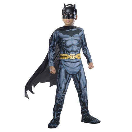 Boys Photo Real Batman Costume](Costumes Of Batman)
